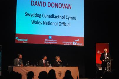 David Donovan speaking at Workplace Conference 2015