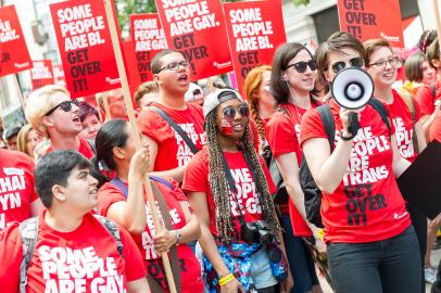 Stonewall London Pride 2015 Young Campaigners