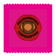 Decolonising contraception logo