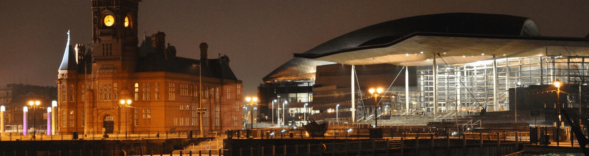 Welsh Parliament building - Senedd
