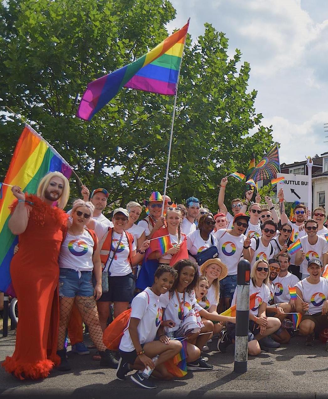 Vodafone LGBT + Friends Network © Vodafone